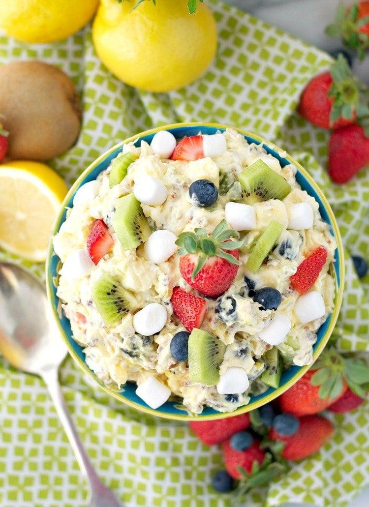Spring Fling Fluff Fruit Salad