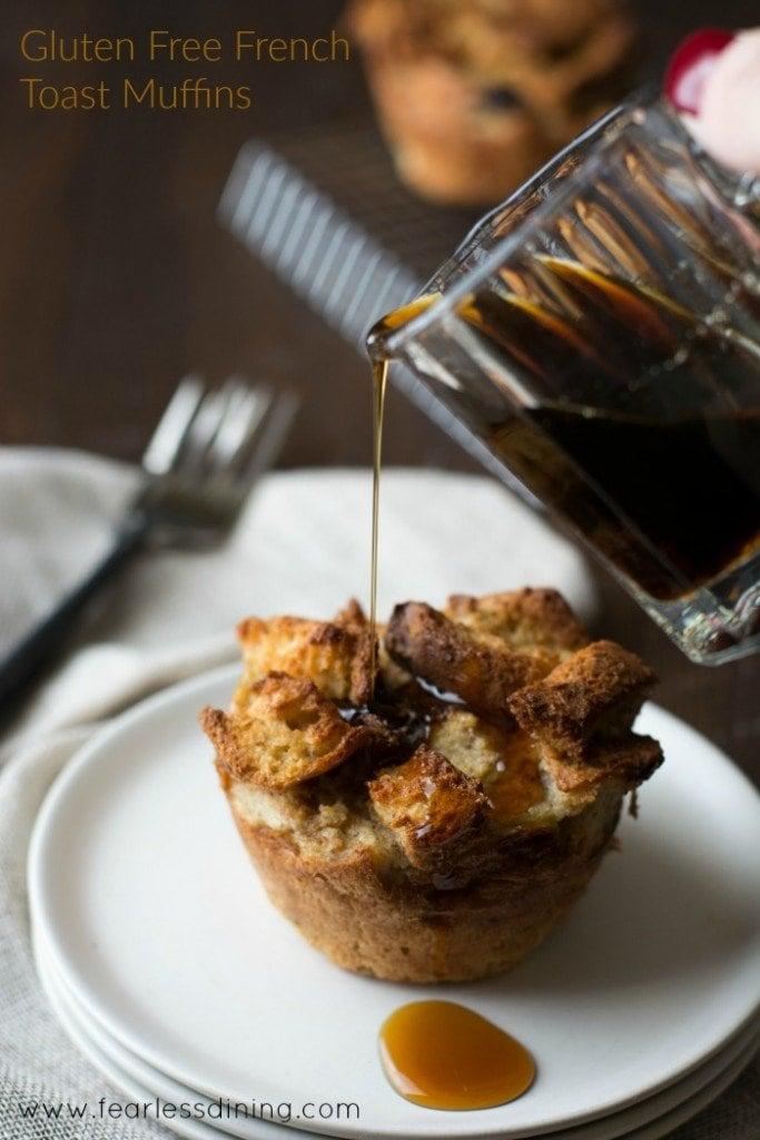 Gluten Free French Toast Muffins