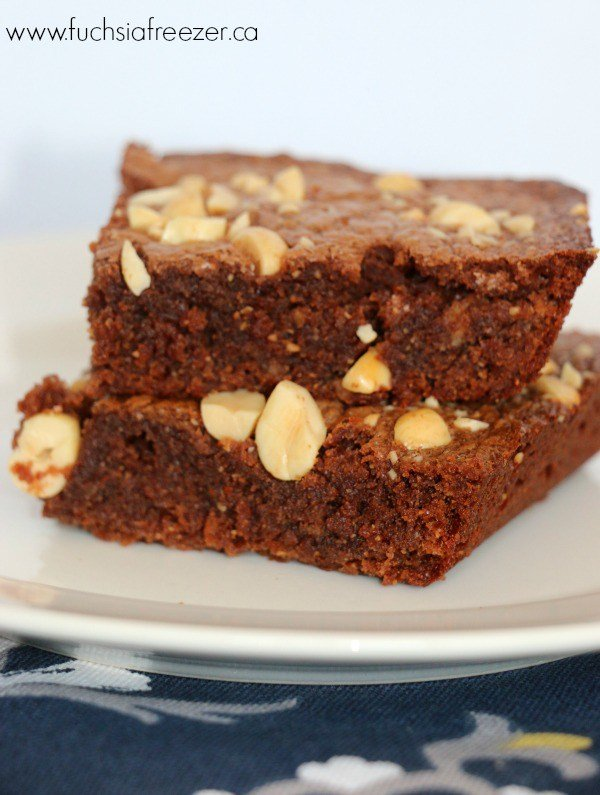 3 Ingredient Chocolate Peanut Butter Brownies