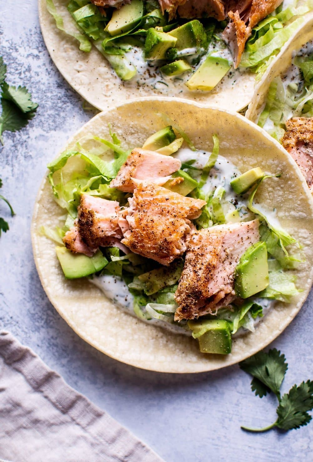 Healthy Baked Salmon Tacos   Salt & Lavender