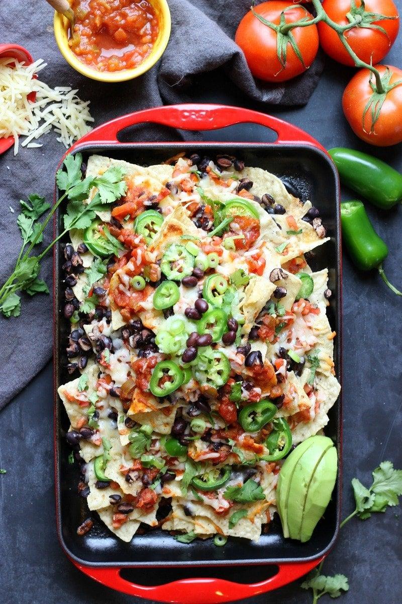 Sheet Pan  Spicy Nachos | Garden in the Kitchen